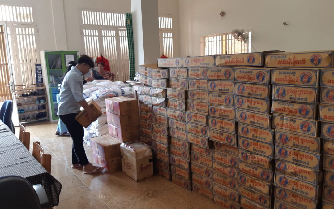 Reaching out to vulnerable families in Cambodia